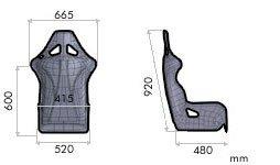 SEDILE WRC-R XL