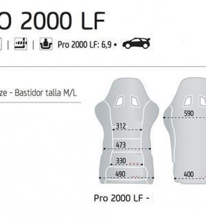 SEDILE PRO 2000 LF 2024