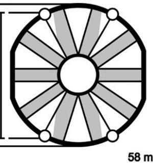ELETTROVENTOLA ASPIRANTE MOTO VA39-A101-45A Ø 140mm 12V